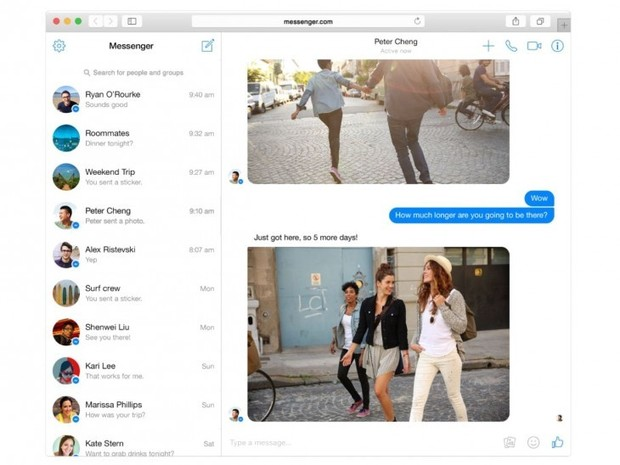 Facebook Launches Standalone Messenger for the Web