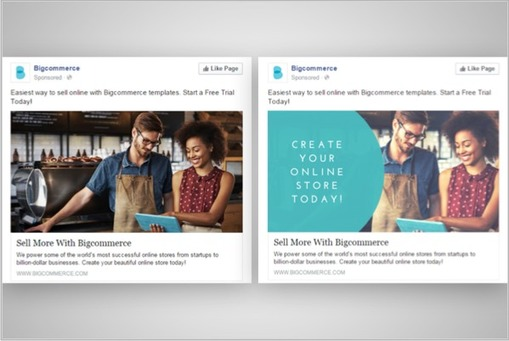 7 simple a b tests for more effective facebook ad design